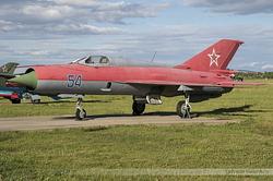 Mikoyan-Gurevich MiG-21PFS Russian Air Force 54 Blue
