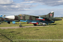 Mikoyan-Gurevich MiG-23M Flogger Russian Air Force 01 Red