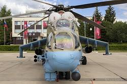 Mil Mi-24P Hind F Russian Air Force RF-91076 / 02 Red