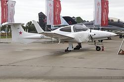 Diamond DA.42NG Twin Star Russian Air Force RF-68502 / 05 Black