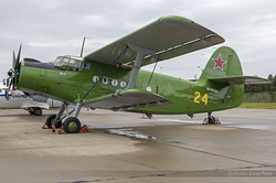 Antonov An-2T Russian Air Force RF-90582 / 24 Yellow
