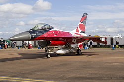 General Dynamics F-16AM Fighting Falcon Royal Danish Air Force 6F-18 / E-191