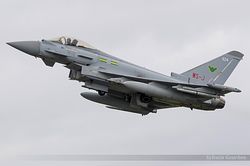 Eurofighter EF-2000 Typhoon FGR4 Royal Air Force ZJ924