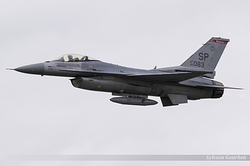 General Dynamics F-16CJ Fighting Falcon United States Air Force 96-0083 / SP