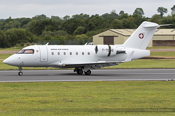 Canadair Challenger 604 Swiss Air Force T-752