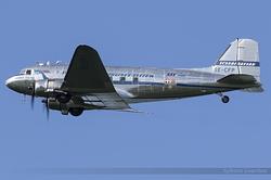 Douglas DC-3C SE-CFP