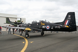 Short S-312 Tucano T1 Royal Air Force ZF170