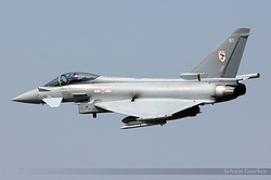 Eurofighter EF-2000 Typhoon FGR4 Royal Air Force ZK306