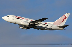 Boeing 737-6H3 Tunisair TS-ION