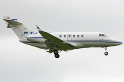 Hawker 850XP Johnson Controls HB-VOJ