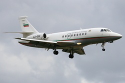 Dassault Falcon 2000 Bulgaria Air Force LZ-001