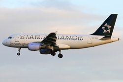 Airbus A319-112 Brussels Airlines OO-SSC