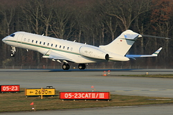 Bombardier BD-700-1A10 Global Express Rolex HB-JFY