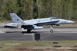 McDonnell Douglas EF-18M Hornet Spain Air Force C.15-51 / 12-09