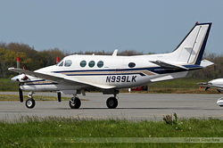 Beech C90A King Air N999LK