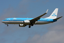 Boeing 737-8K2 KLM Royal Dutch Airlines PH-BXH