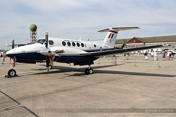 Raytheon B200 King Air Royal Air Force ZK455 / O