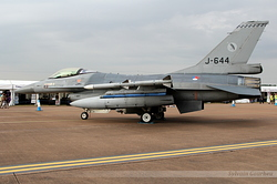General Dynamics F-16AM Fighting Falcon Netherlands Air Force J-644