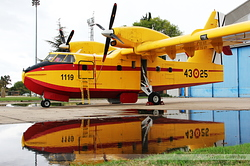 Canadair CL-215T Spain Air Force UD.13-25 / 1119 / 43-25