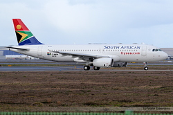 Airbus A320-232 South African Airways ZS-SZJ / F-WWBM