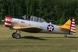 North American T-6D Texan F-AZMP