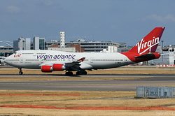 Boeing 747-41R Virgin Atlantic G-VWOW