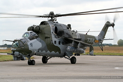 Mil Mi-24V Czech Republic Air Force 7358
