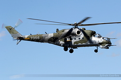 Mil Mi-24V Czech Republic Air Force 7356