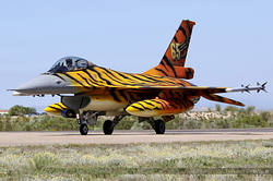 General Dynamics F-16AM Fighting Falcon Belgium Air Force FA-77