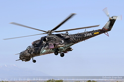 Mil Mi-35 Czech Republic Air Force 3366