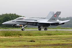 McDonnell Douglas F/A-18C Hornet Switzerland Air Force J-5026