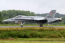 McDonnell Douglas F/A-18C Hornet Switzerland Air Force J-5004