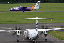De Havilland Canada DHC-8-402Q Dash 8 Flybe G-JECR