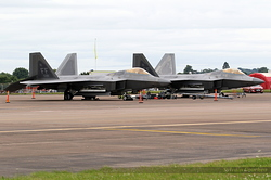 Lockheed Martin F-22A Raptor US Air Force 09-4191 / FF & 09-4181 / FF
