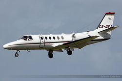 Cessna 550B Citation Bravo Netjets Europe CS-DHJ