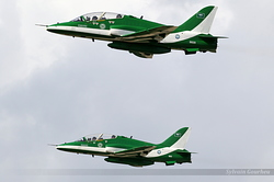 British Aerospace Hawk Mk.65A Royal Saudi Air Force 8820 & 8811