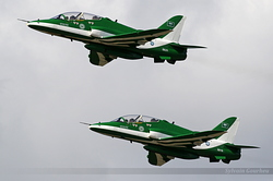 British Aerospace Hawk Mk.65A Royal Saudi Air Force 8821 & 8819