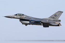 General Dynamics F-16AM Fighting Falcon Netherlands Air Force J-136