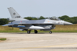 General Dynamics F-16AM Fighting Falcon Netherlands Air Force J-008