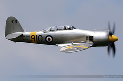 Hawker Sea Fury T.20 WG655 / G-CHFP