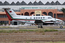 Beechcraft 200C Super King Air Royal Moroccan Air Force BL-57 / CN-ANI