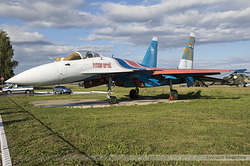 Sukhoi Su-27 Flanker Russian Air Force 3 Blue