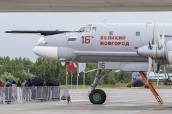 Tupolev Tu-95MS Bear-H Russian Air Force RF-94124 / 16 Red