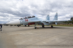 Sukhoi Su-30SM Flanker-C Russian Air Force RF-81769 / 58 Red