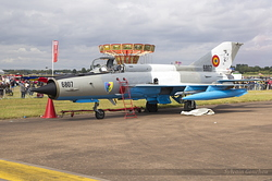 Mikoyan-Gurevich MiG-21MF-75 Romanian Air Force 6807
