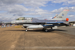 General Dynamics F-16B Fighting Falcon Royal Netherlands Air Force J-368