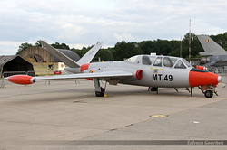 Fouga CM-170R Magister Belgium Air Force MT-49