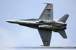 McDonnell Douglas F/A-18C Hornet Switzerland Air Force J-5008