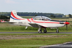 Pilatus PC-9M Croatia Air Force 055