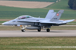 McDonnell Douglas F/A-18D Hornet Switzerland Air Force J-5235